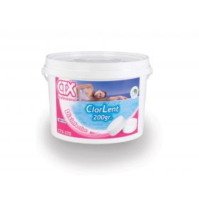 Бавноразтворим хлор CTX 370 таблетки- 5 кг.