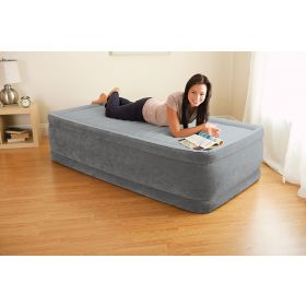 Надуваем матрак  Twin comfort bed с помпа- 99 x 191 x 46 см