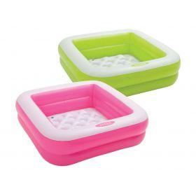 Бебешки надуваем басейн INTEX Play Box
