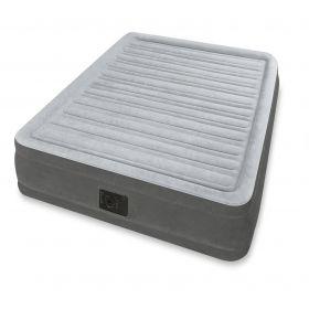 Надуваем матрак Queen comfort plush airbed с помпа- 152 x 203 x 33 см