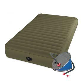 Intex Надуваем матрак за къмпинг с крачна помпа - 99x191x20cm